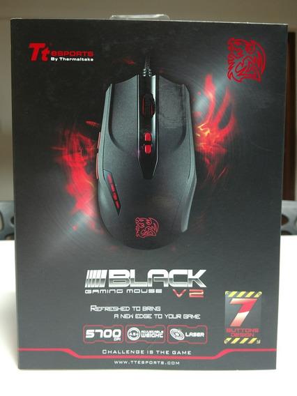 Mouse Gamer Tt Esports Black V2 Laser 5600 Dpi