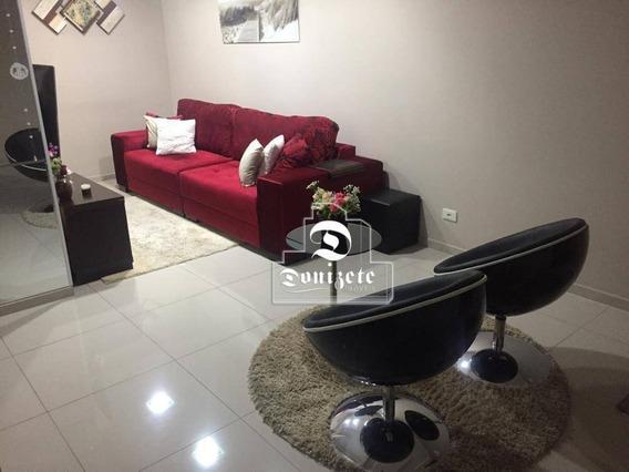 Cobertura À Venda, 140 M² Por R$ 529.000,00 - Vila Assunção - Santo André/sp - Co11004