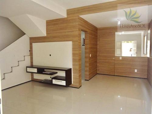 Imagem 1 de 27 de Casa Duplex Com Com Móveis Projetados - Ca0582