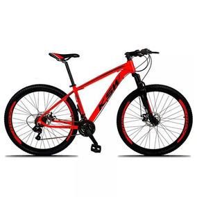 Bicicleta Xlt Aro 29 Quadro 21 Alumínio 21 Marchas Suspensão