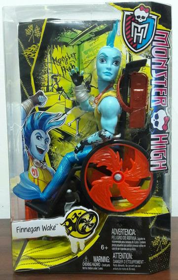 Monster High Finnegan Wake Cadeira Roda Novo Frete Grátis