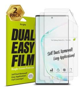 Kit 2x Película Ringke Easy Samsung Galaxy Note 10 Plus 6.8