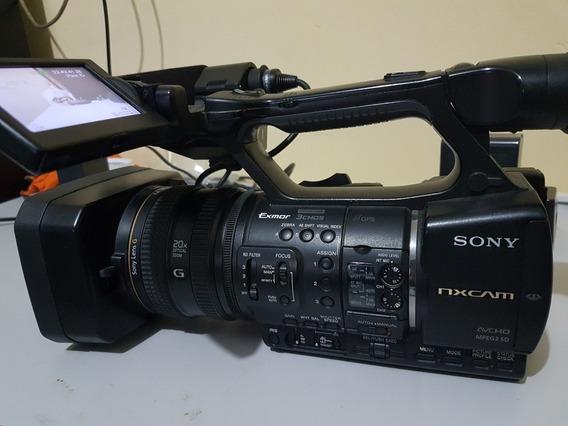 Filmadora Profissional Sony Nx5 Full Hd