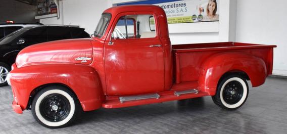 Camioneta Gmc Top 1954 Roja