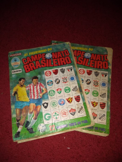 Álbuns Campeonato Brasileiro 1989