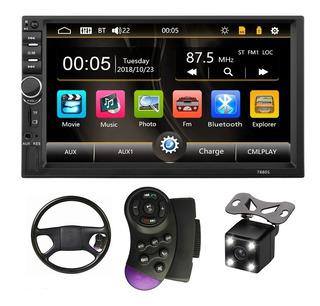 Auto Estereo Pantalla 7 Bluetooth 2 Din Mirrorlink + Regalos