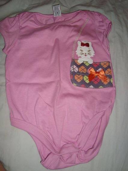 Body Blusa Camisa Alphabeto Nova Tam G 6-9 Meses
