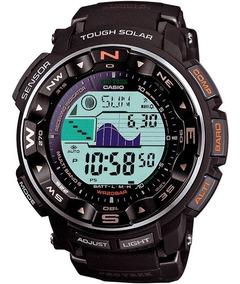Relógio Casio Protrek Tough Solar Prw2500r-1 Tábua De Mares