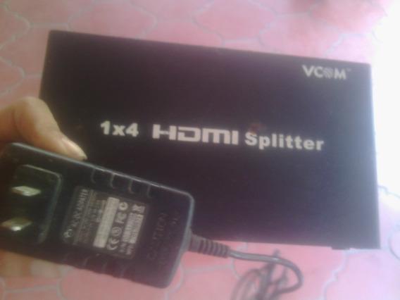Splitter Hdmi 1 X 4