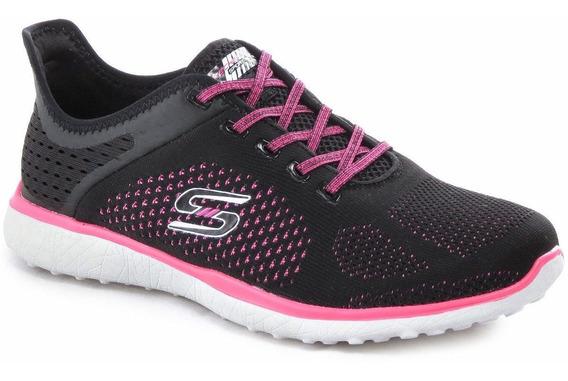 Zapatillas Skechers Microburst Running Memory Foam Mujer