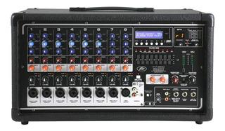Consola Potenciada Peavey Pvi8500mp3 400w Rd Music Store