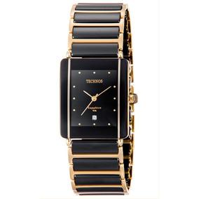 Relógio Technos Femino Cerâmica Safira Gn10aapai/4p