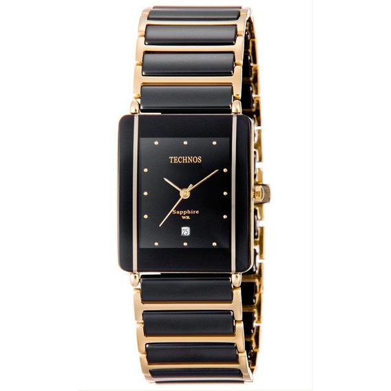 Relógio Technos Feminino Cerâmica Safira Gn10aapai/4p