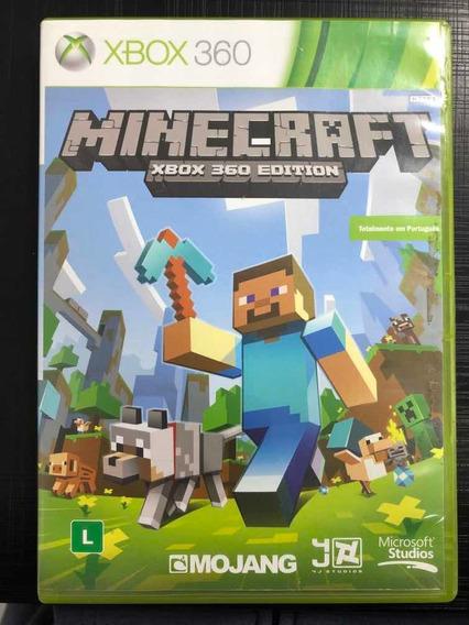 Jogo Xbox 360 Minecraft Original Mídia Física Português Veja