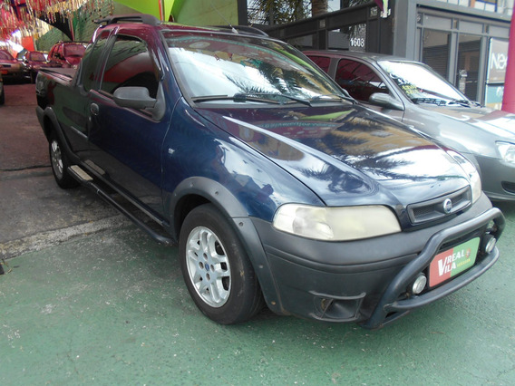 Fiat Strada 1.6 Mpi Adventure Ce 16v Gasolina 2p Manual