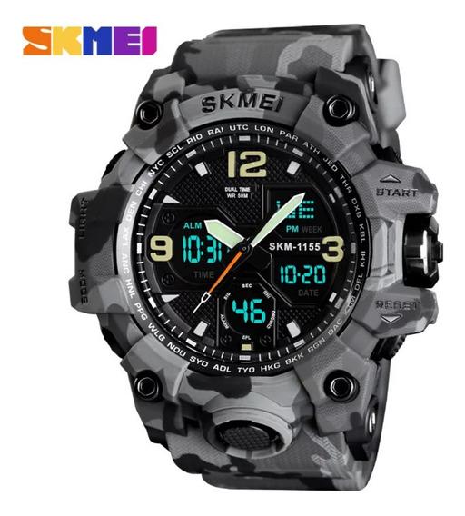 Relógio Esportivo Skmei Camuflado Original