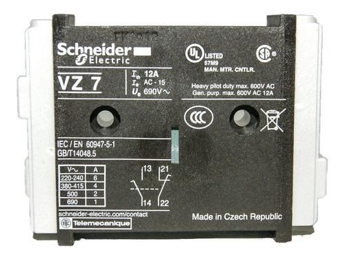 Contacto Auxiliar Schneider Electric Vz7 Telemecanique