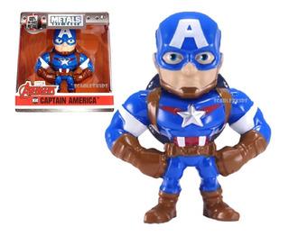 Capitan America Figura Metals 6.5 Cm Die Cast Marvel Jada