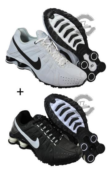 Tenis Nike Sxhox Junior 4 Molas Profit Promoção Kit 2 Pares