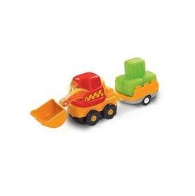 Brinquedo Escavadeira Com Reboque Toot-toot Drivers Vtech