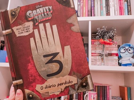 O Diário Perdido De Gravity Falls Vol.03 Em Ofertão