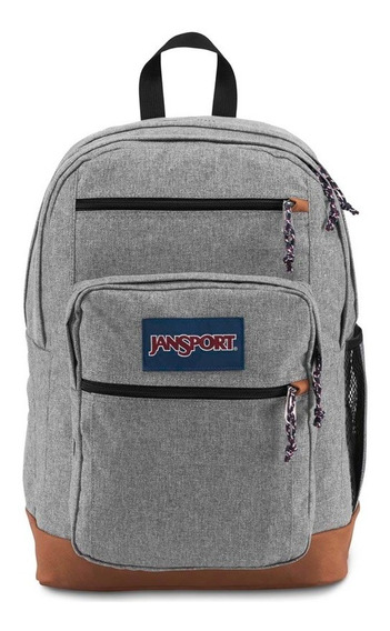 Mochila Jansport Cool Student Grey Letterman Poly