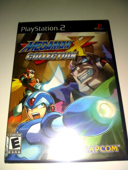 Mega Man X Collection Ps2 Lacrado