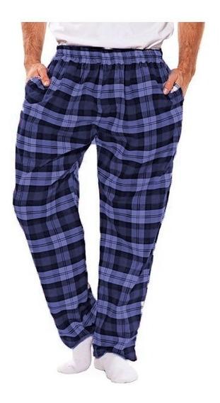 Pantalon Pijama Hombre Algodón Escoses Rackey 519 Roda Lenceria