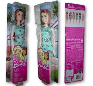 Barbie Tamaño Gigante Con Vestido Basica (30 Cm) Mattel