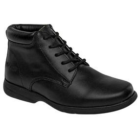 Zapato Escolar Para Niño Marca Elefante N61846 Piel Dgt