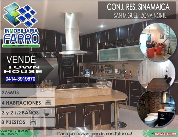 Venta De Town House En San Miguel Ve01-0135sm-tg