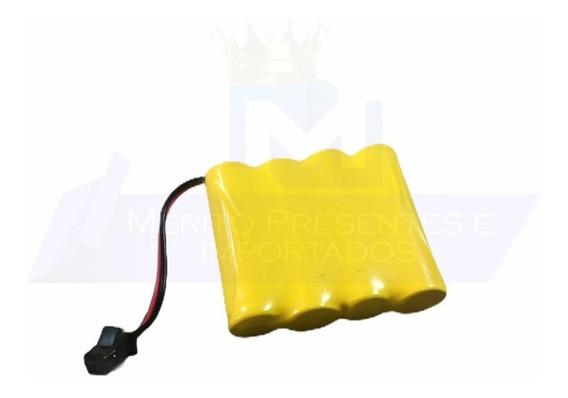 Bateria Carrinho 4,8v Aa Ni-cd 500mah Com Conector Smp 02