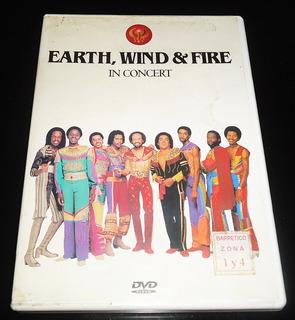 Dvd Concierto Earth, Wind & Fire In Concert Original