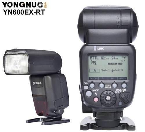 Flash Yongnuo Yn-600ex-rt Ii Para Canon (i-ttl, E-ttl)