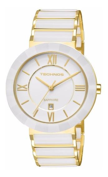 Relógio Technos Elegance Sapphire Cerâmica 2015bv/4b