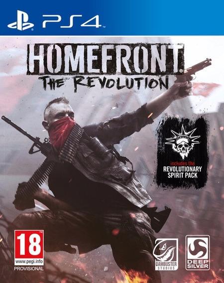 Homefront: The Revolution - [ps4] Lacrado