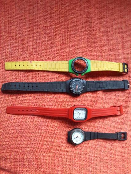 Lote Relógios Antigos Technos Orient Leia Descrição