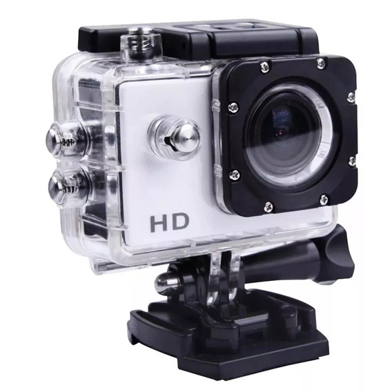 Câmera Action Hardline Harcam Silver 720p Hd