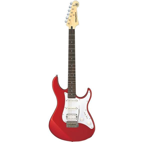 Guitarra Strato Yamaha Pacifica 012 Vermelha 2 Captadores S