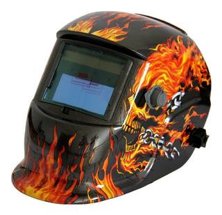 Careta Mascara Soldar Electrónica Fotosensible Certificada
