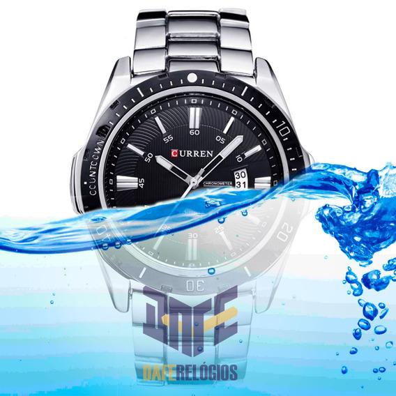 Relógio Masculino Metal Curren C/ Garantia Frete Grátis