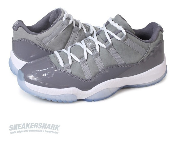Air Jordan Xi 11 Retro Low Cool Grey Envio Inmediato Gratis