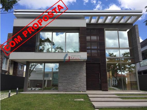 Casa Moderna Com 4 Suites E Piscina No Condomínio Alphaville - Ca0116