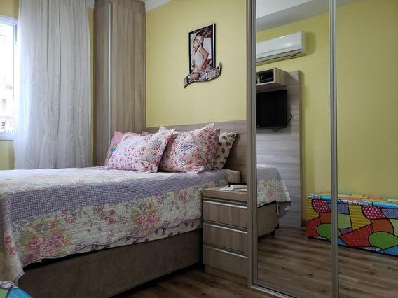 Apartamento Em Marapé, Santos/sp De 63m² 2 Quartos À Venda Por R$ 390.000,00 - Ap350153