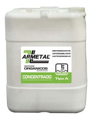 Liquido Anticongelante Armetal 20 Litros Rojo  Organico - Us