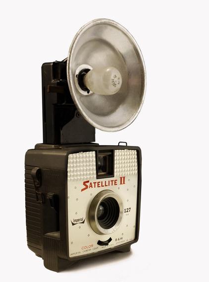 Câmera Imperial Satellite 2, Usa 1961 - Coleção / Decoração