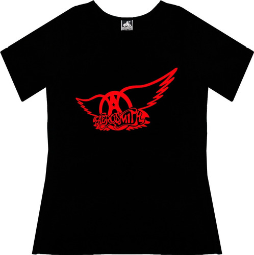 Blusa Aerosmith Dama Rock Metal Tv Camiseta Urbanoz