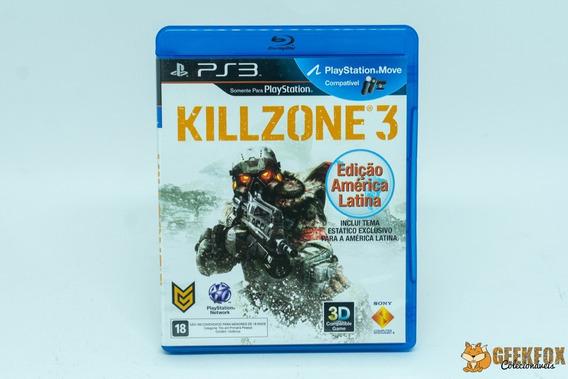 Killzone 3 - Original - Ps3 - Frete R$15,00