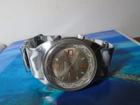 Technos Sky Diver Compressor World Time 200 M S