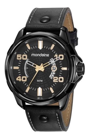 Relógio Mondaine Masculino Preto 99336gpmvph2